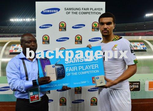 AFCON 2015: Ghana striker Kwesi Appiah wins Nations Cup Fair Play Player Award