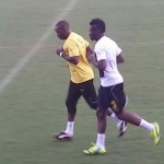 Gyan returns to light training in subtle boost for Ghana ahead of 2015 AFCON final