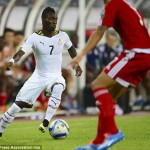 In-form winger Christian Atsu insists this is not time to celebrate