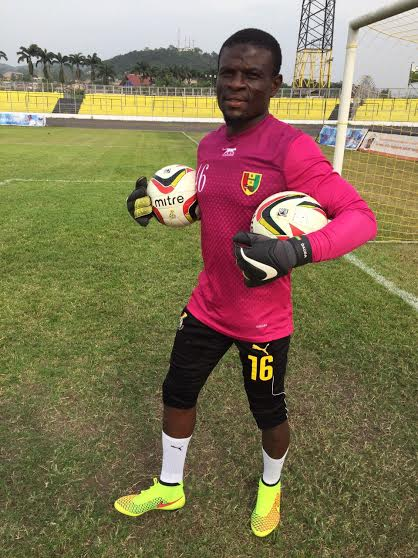 Ghana goalkeeper Fatau Dauda delighted with return to competitive club action