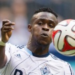 Gershon Koffie: Ghanaian midfielder helps Vancouver Whitecaps to pre-season win over New England Revolution