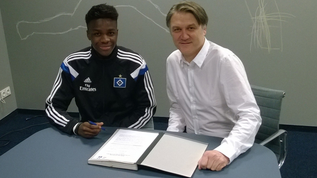 Gideon Jung: Ghanaian youth international signs contract extension at German side Hamburg SV