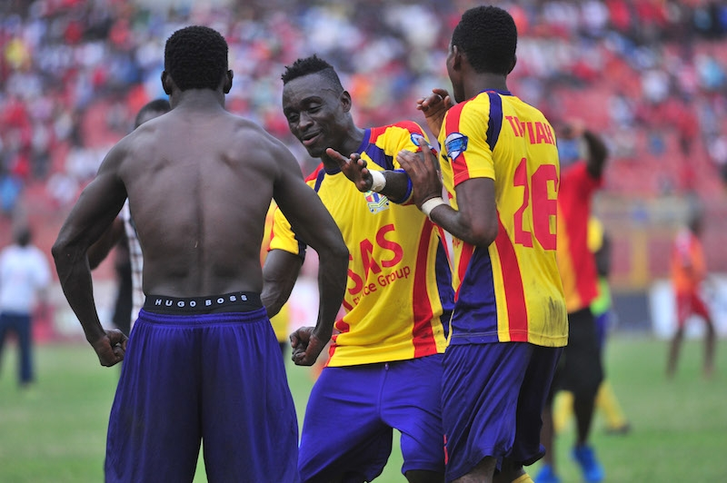 Hearts coach praises team for giving 'more hell' in epic win over Aduana
