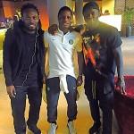 AC Milan duo Muntari and Essien visited Mubarak Wakaso in Celtic camp before Europa League exit to Inter