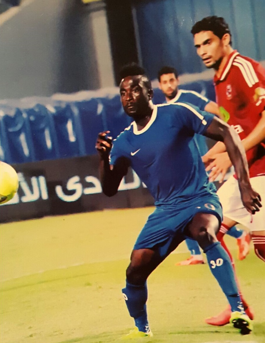 Watch Video of Nana Poku's goal against Al Ahly as Ghanaian striker continues scoring run