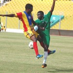 Hearts winger Ollenu Ashitey strikes late to deny Kano Pillars victory in friendly