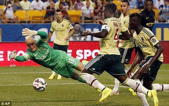 Sulley Muntari: Ghana midfielder captains AC Milan in heavy defeat to Juventus in Serie A