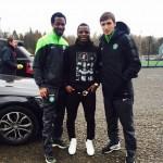 Wakaso Mubarak: Ghana midfielder salutes Celtic team-mates after watching them against St. Johnstone