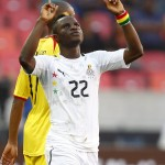 Wakaso makes AFCON history by scoring 1, 500th goal in heavy win over Equatorial Guinea