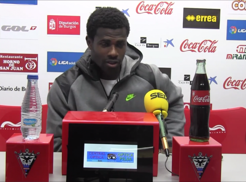 Ghana goalie Razak Brimah hopeful Mirandes will bounce back against Sporting Gijon
