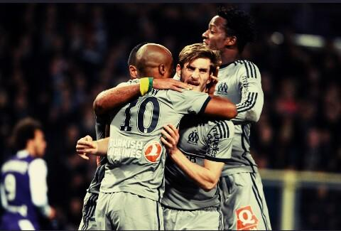 VIDEO: Watch Andre Ayew's brilliant finish for Marseille in massive Ligue 1 win
