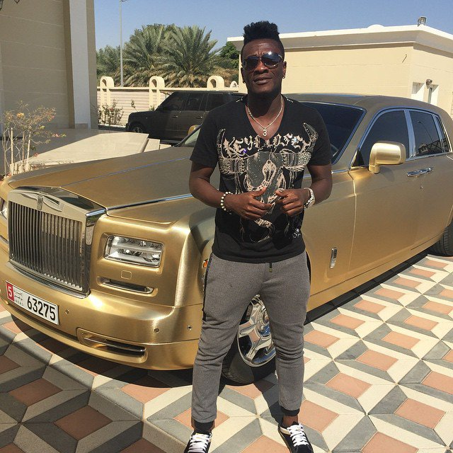 I told Asamoah Gyan he will be filthy rich during his formative years, Liberty coach George Lamptey recounts