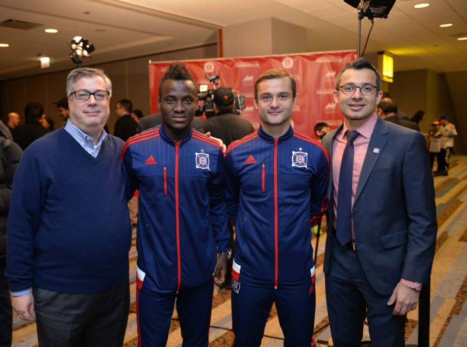 No MLS debut for David Accam as he is left out of Chicago Fire squad for LA Galaxy reverse