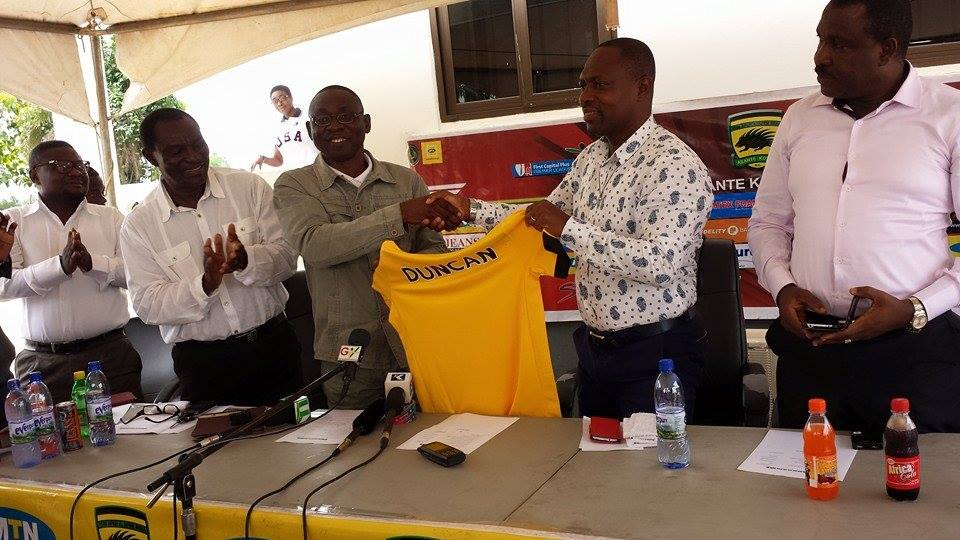 PICTURES: Kotoko unveil David Duncan as new coach