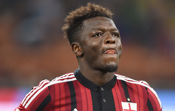Sulley Muntari watched former side AC Milan beat Juventus at the San Siro on Saturday in Serie A