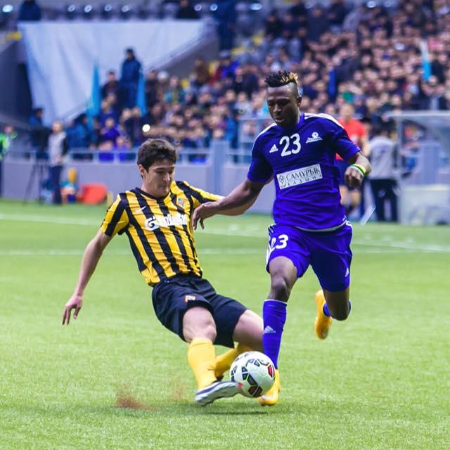 Patrick Twumasi: Ghanaian forward feels ready for Kazakhstan league season after winning Super Cup
