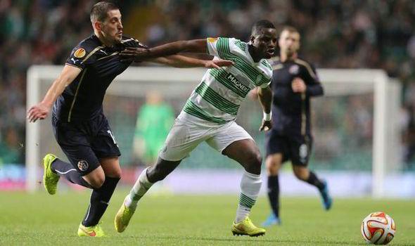 Wakaso Mubarak: Versatile Ghana winger returns to action for Celtic in St Johnstone home loss
