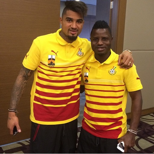 Could massive Black Stars players Instagram and Twitter Happy Birthday post to K-P Boateng mean midfielder is wanted back?