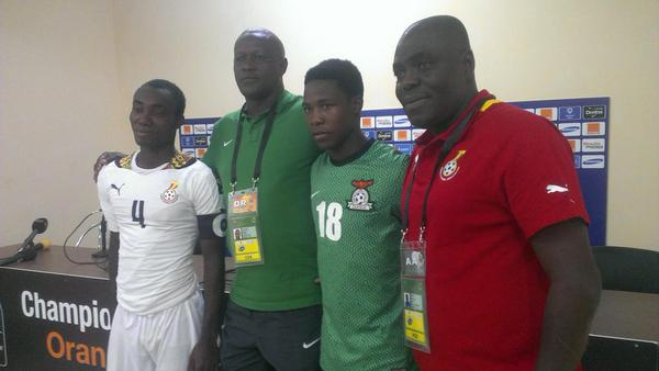 PICTURES: Ghana Under-20 qualify to 2015 World Youth Championship