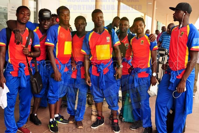 Hearts arrive in Bamako for Confederation Cup clash agaisnt AC Djoliba