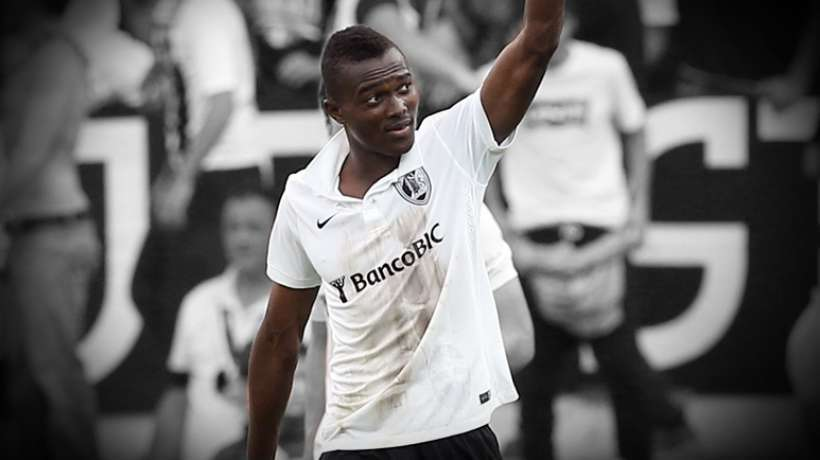 On-loan Bernard Mensah climbs off the bench to play first match for Guimaraes