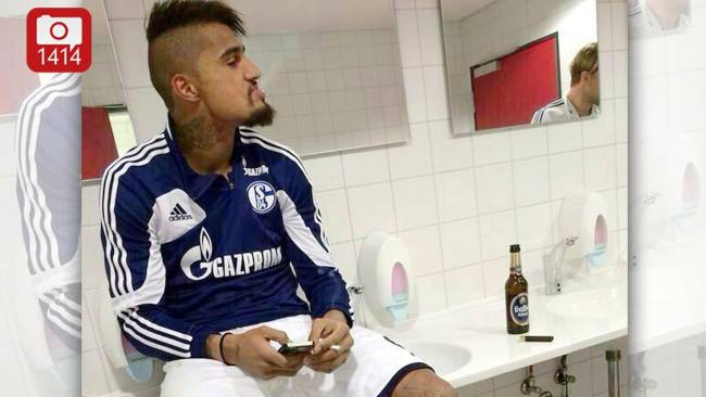 PICTURES: Kevin Boateng's nice and controversial moments at Schalke