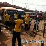 Asante Kotoko players join National Sanitation Day in Kumasi