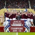 Prince Buaben: Ghanaian international wins Scottish Championship title with Heart of Midlothian