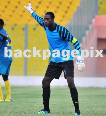 AshantiGold goalie Robert Dabuo raring to go after injury recovery