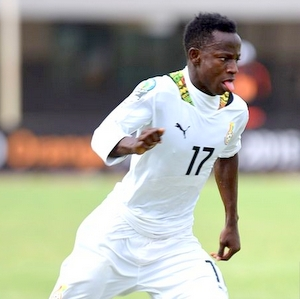 CONFIRMED: Talented Ghana U20 star Yaw Yeboah replaces injured Jeffery Schlupp for Ghana's Afcon clash with Rwanda