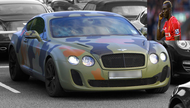 World Football Stars And Their Camouflage Cars