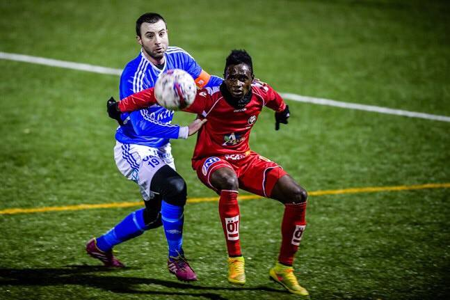 Seth Paintsil on target for Jaro FF in draw with IF Gnistan in Finnish second tier league