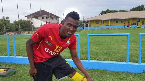 VIDEO: Whiz kid Bernard Mensah kills the beat in his Black Stars initiation dance