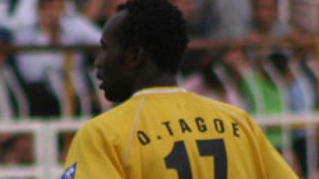 Meet former Berekum Arsenal midfielder Daniel Tagoe who plays for Kyrgyzstan