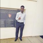 English giants Arsenal confirm signing Ghanaian youngster Jordi Osei-Tutu