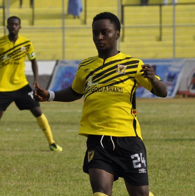 AshGold's Osei Baffour insists he didn't use F-word on referee to warrant sending off in defeat to Kotoko