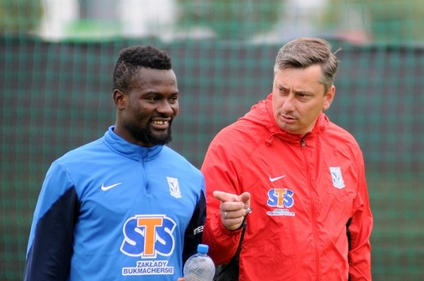 Midfielder Abdul Aziz Tetteh returns to pre-season with Lech Poznan