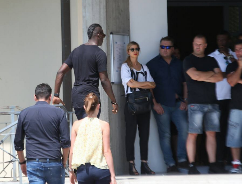 PICTURES: The funeral of Mario Balotelli's adopted father ...
