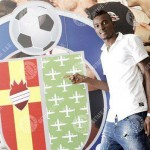 PICTURES: Spanish side Getafe unveil Ghanaian loanee Bernard Mensah