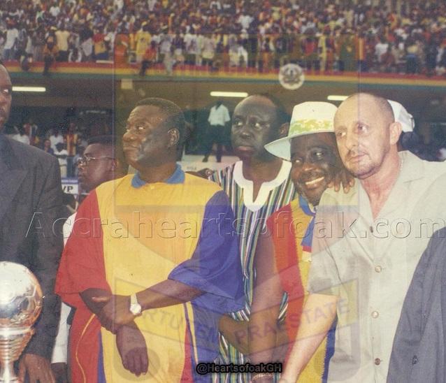 Hearts of Oak remember Ghana late former President J E A Mills