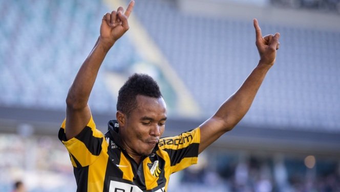 VIDEO: Ghana youth star Nasiru Mohammed exhibits prolificacy with brace for BK Hacken in league win