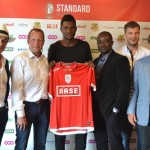 PICTURES: Ghana U20 striker Benjamin Tetteh signs three-year deal with Belgian outfit Standard Liege