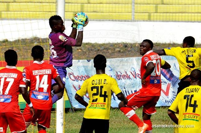 "Tension mounts as Kotoko host leaders AshGold in ""Ashanti Classic"" derby"