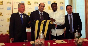 EXCLUSIVE: Sulley Muntari among world's highest paid footballers after £6.4m Saudi Arabia move