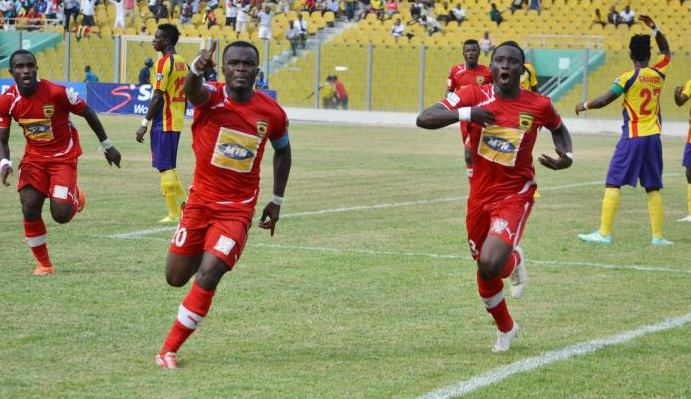 Amos Frimpong is Kotoko's player of the month of July