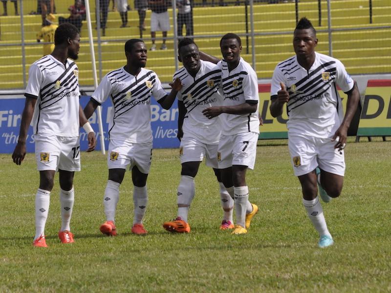 Match Report: AshantiGold 1-0 Liberty Professionals - Emmanuel Osei tightens Miners grip on leadership