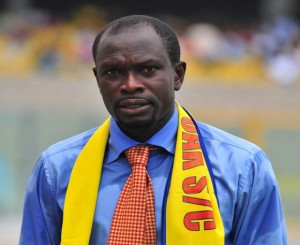 Ex-Hearts coach CK Akunnor rules out return to club