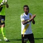 VIDEO: Watch Ghanaian starlet Eugene Ansah score a stunning low drive for Lokeren in Belgium