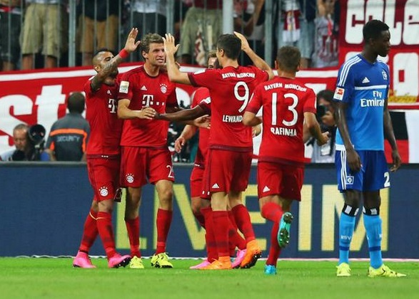 UEFA CHAMPIONS LEAGUE: Injured Bayern Munich star Jerome Boateng congratulates team mates for Athleti win