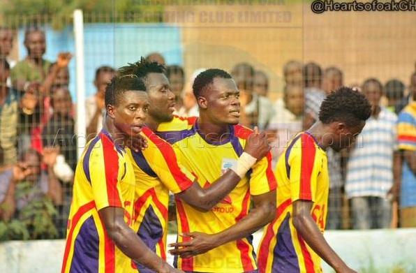 Match Report: Hearts of Oak 1-0 Bechem United - Kenneth Okoro lone strike keeps Phobians survival hopes   alive